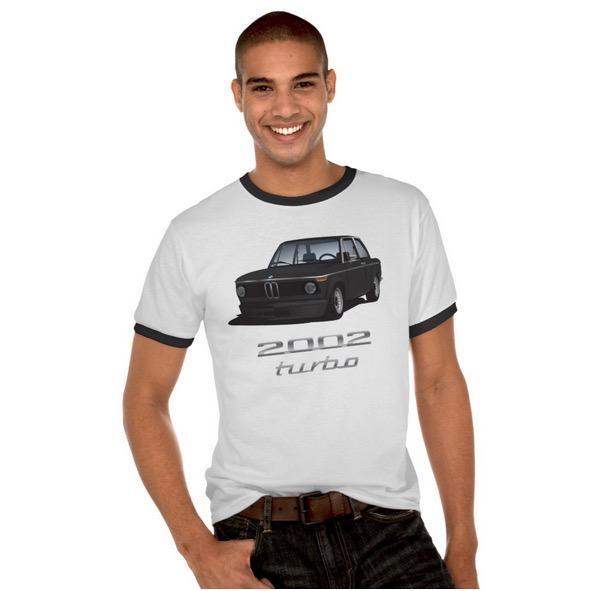 BMW 2002 turbo (e20) t-paita t-skjorta