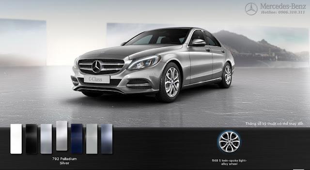 Mercedes C200 2017 thiết kế thể thao với nhiều tiện ích và công nghệ hàng đầu của hãng xe Mercedes