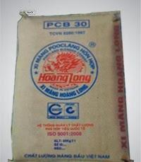 Báo giá xi măng Hoàng Long pcb30 - 2016