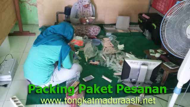 Packing Order Tongkat madura