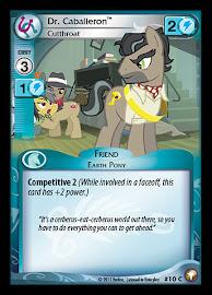 My Little Pony Dr, Caballeron, Cutthroath Equestrian Odysseys CCG Card