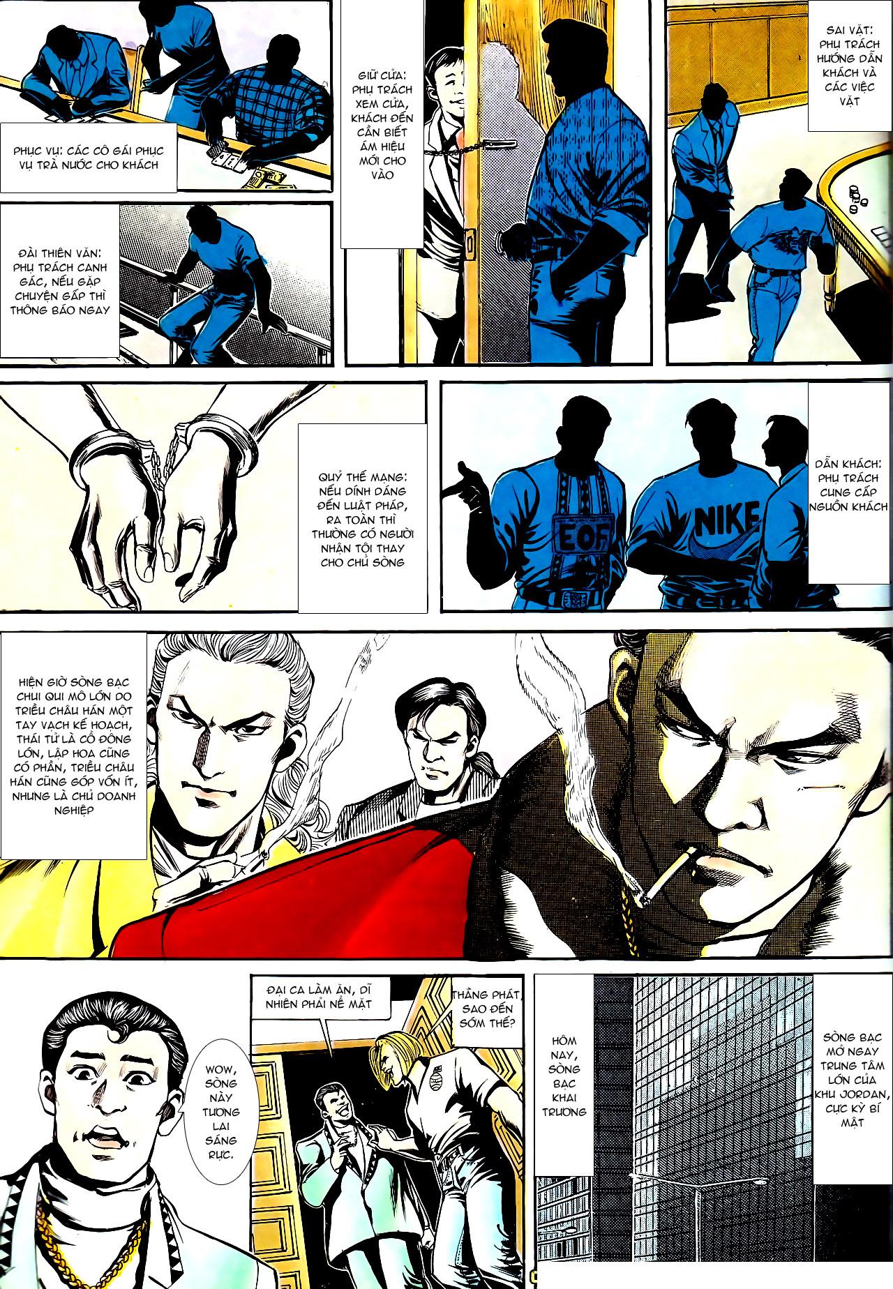 Người Trong Giang Hồ chapter 153: xích mích trang 22