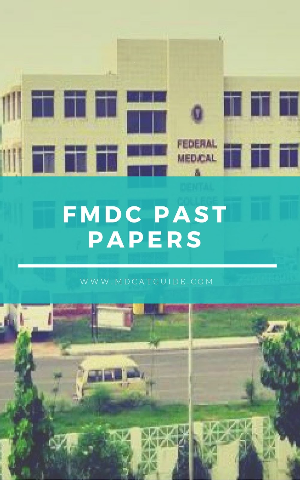 FMDC Past Solved Papers [PDF Download] | MDCAT Guide