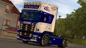 Scania RJL skin Europe Transport Group New Generation