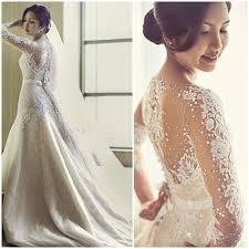 Modelos de vestido de noiva simples e elegante