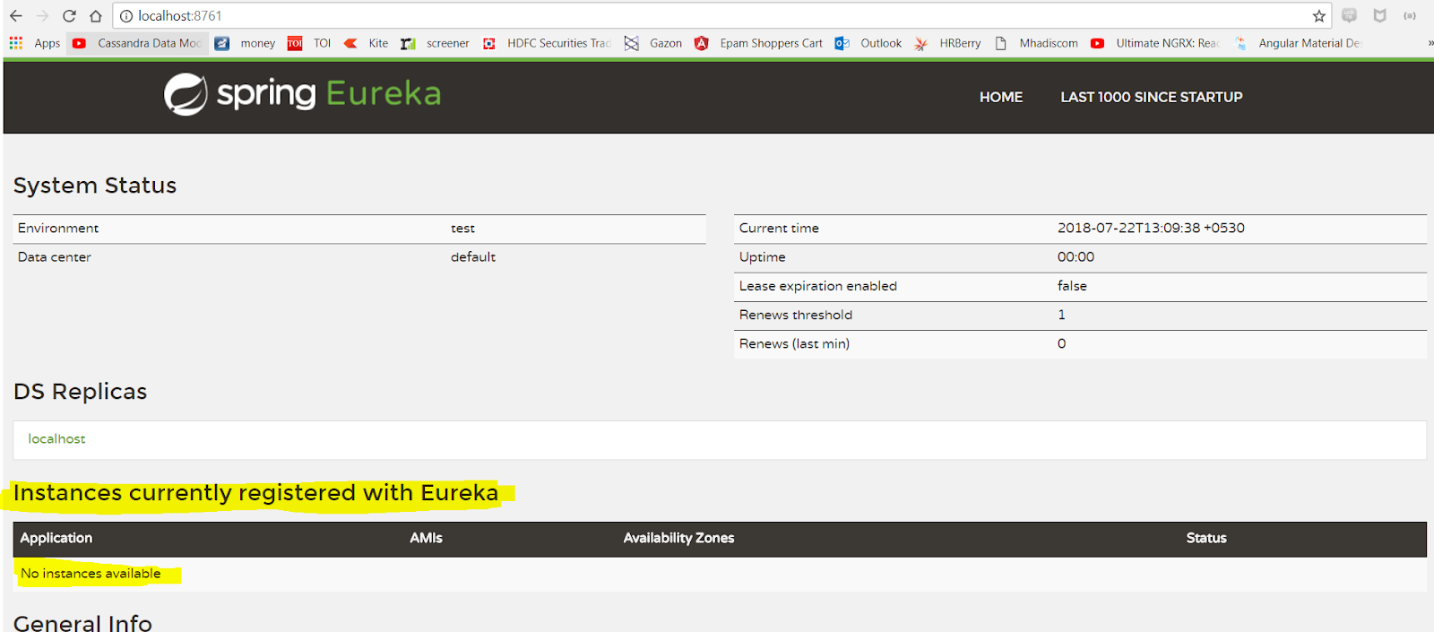Part 5 - Microservices with Spring Cloud : Eureka Naming Server