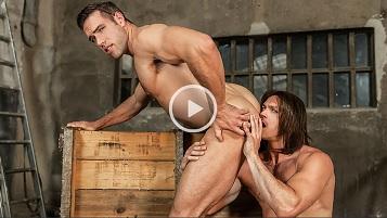Captain America : A Gay XXX Parody Part 3 – Alex Mecum, Paddy O'Brian
