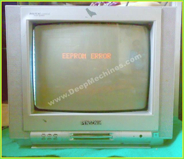 TV China Pensonik - Eeprom Error