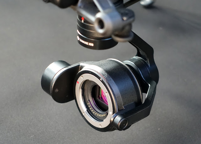the photographic idiot box camera convey been upgraded to offering improved icon lineament Dji Inspire two Camera Review - ZENMUSE X5S