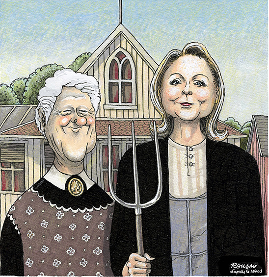 Antipodes American Gothic