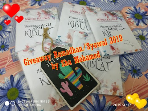 Giveaway Ramadhan/Syawal 2019 oleh Sha Mohamed