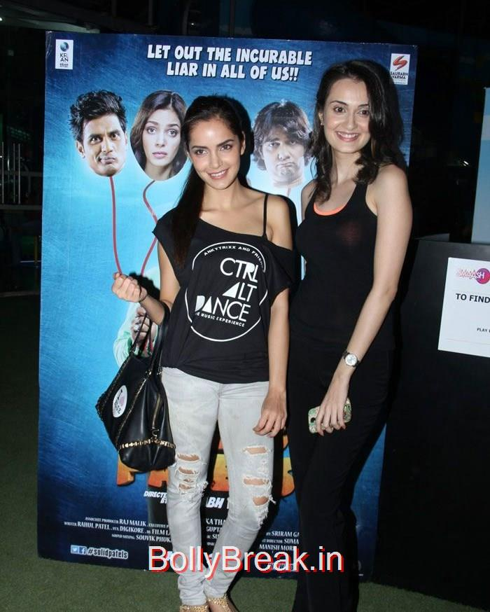 Shazahn Padamsee, Vaishali Desai, Solid Patels movie Actresses Shazahn, Vaishali at an Event