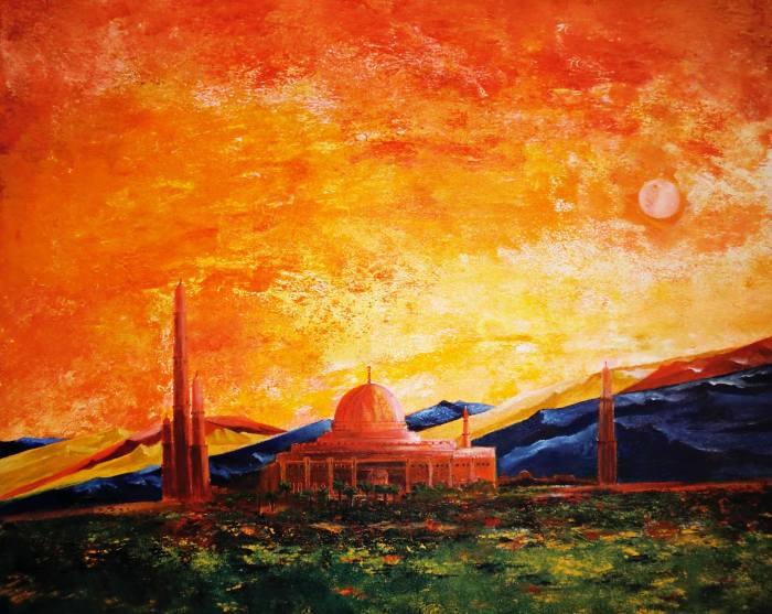 Индийский художник. Padmaja Madhu