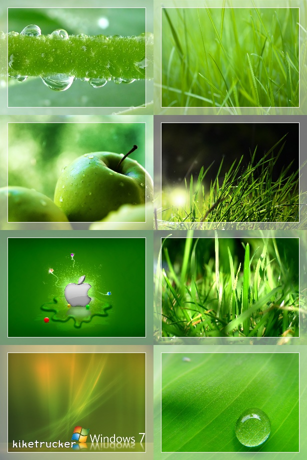 Wallpapers tonos verdes HD - Pack 2 [Deposit Files]