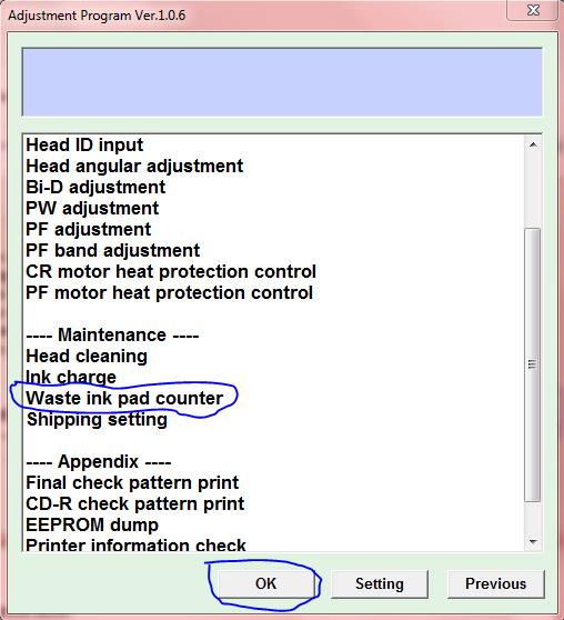 Cara Penggunaan Resetter Printer Epson T1100 ~ m4sdoel-blog