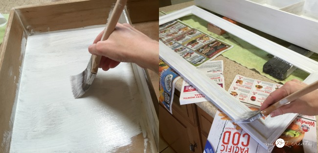 painting drawer cabinet
