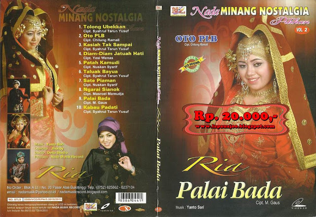 Ria - Palai Bada (Album Nada Minang Nostalgia Pilihan Vol 2)
