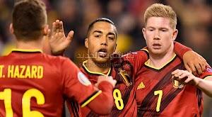 بلجيكا بدون خساره بعد الفوز من جديد على منتخب قبرص ب 6 اهداف في التصفيات المؤهلة ليورو 2020