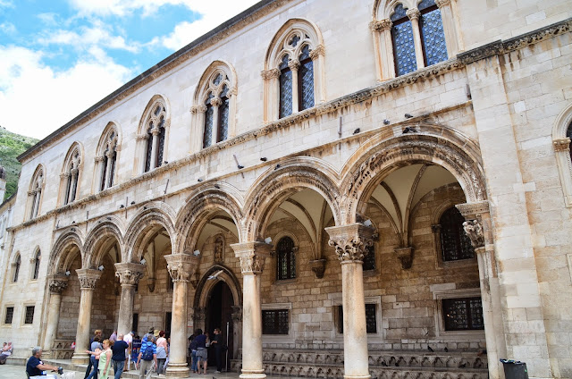 Rector's Palace, Dubrovnik, Croácia.