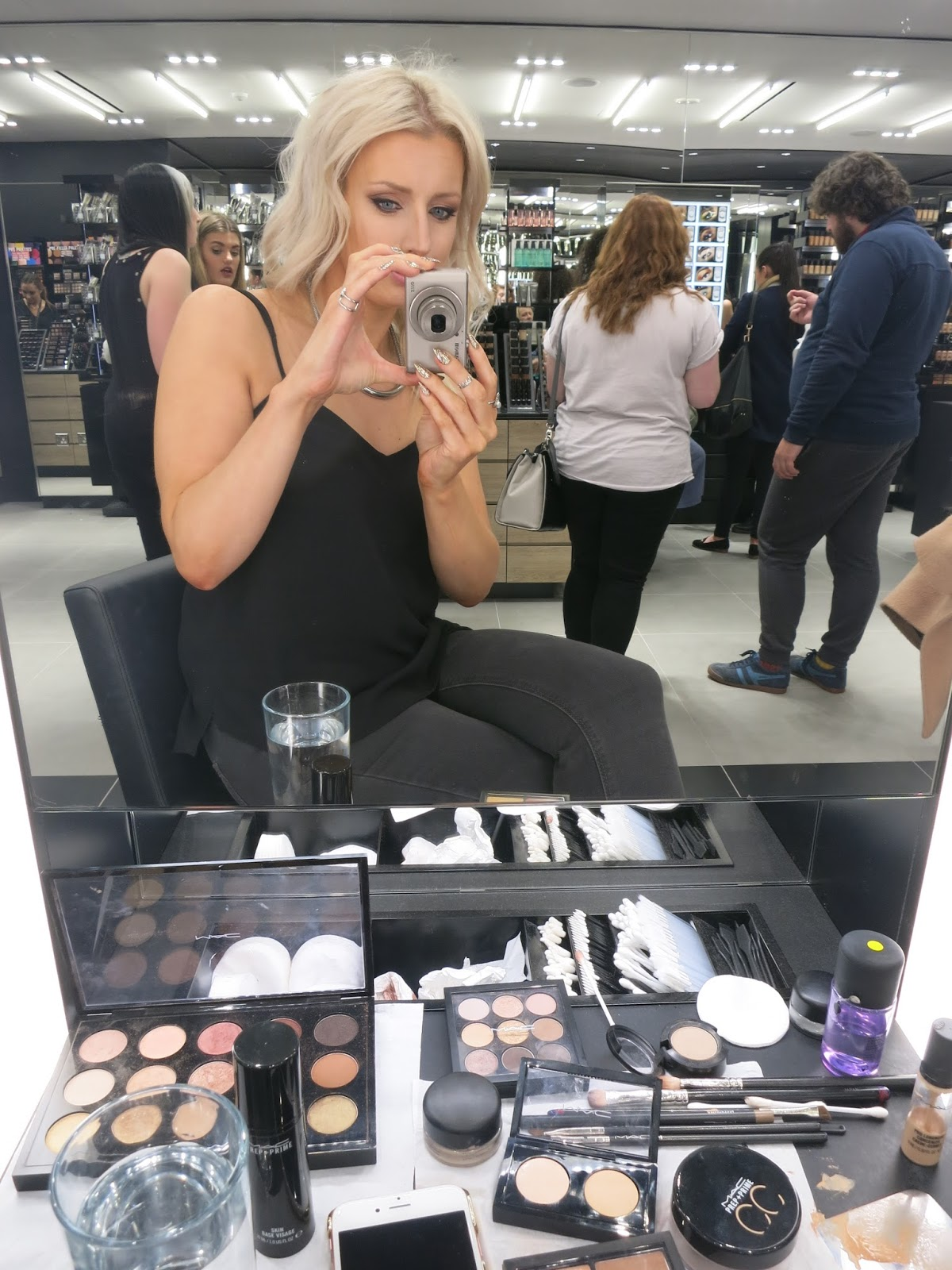 MAC makeover, Brighton, Beauty Blogger, Devoted To Pink, Beauty Blog