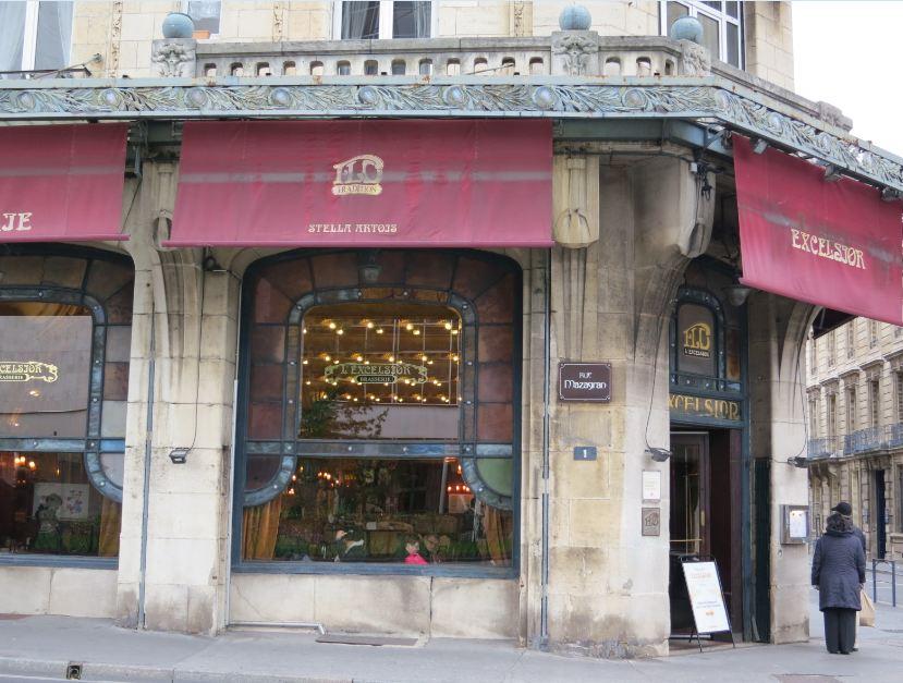 paris breakfasts Brasserie Excelsior Nancy