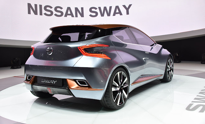 Nissan Sway rear view