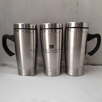 MUG STAINLESS 3 GARIS  PT. KB Insurance Indonesia