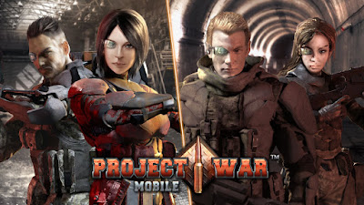 Project War Mobile APK + OBB Full Download