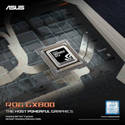 Spesifikasi ASUS ROG GX800 Geforce GTX