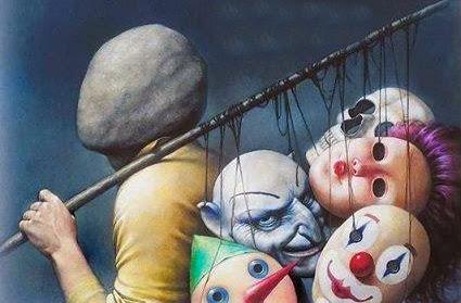 Resultado de imagem para homens com várias máscaras