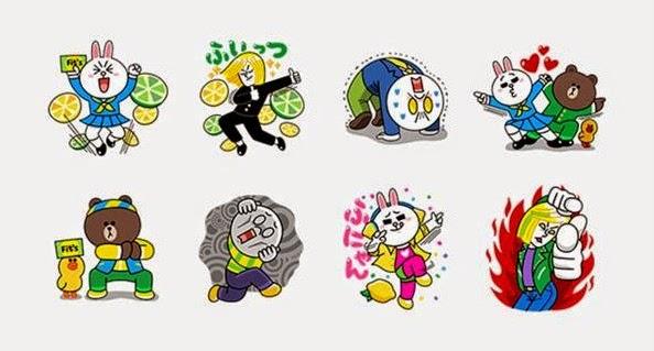 Enter Serial Number Line Sticker Rakuten ✓ Satu Sticker b4e74d78579da