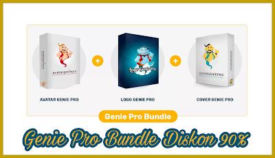 3 Produk Genie Pro Diskon 90%