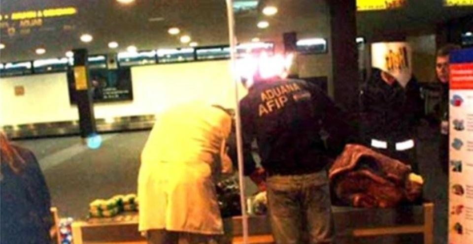 Dos mujeres con droga detenidas Ushuaia