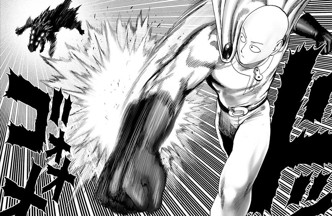 One Punch Man Saitama Vs Genos One Punch Man Manga Saitama Vs Genos - Dowload Anime ...