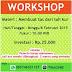 Ikuti Workshop : Membuat Tas Dari Tali Kur [CLOSED]