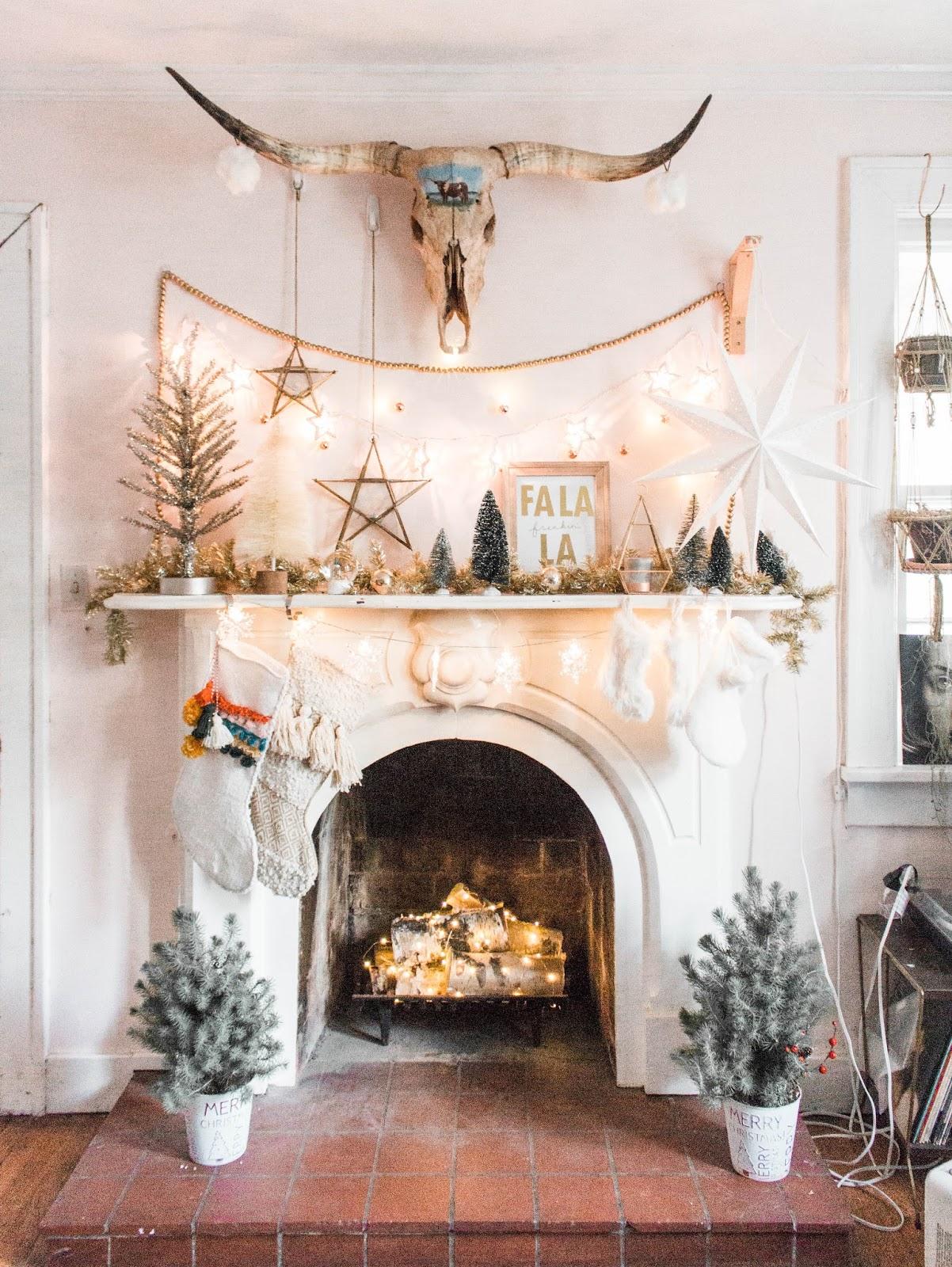 How To Create A Boho Christmas Scene
