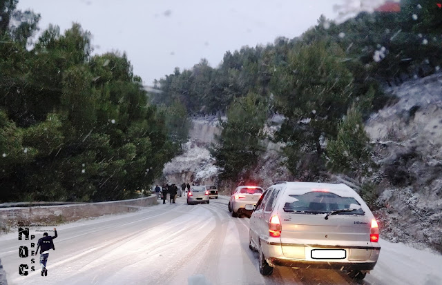 ULTIM'ORA. Emergenza neve. Sulla Macchia – Monte Sant'Angelo è emergenza viabilità