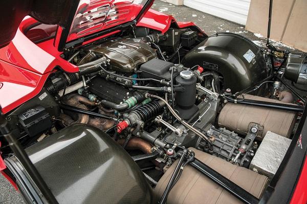 Ferrari F50 de Mike Tyson