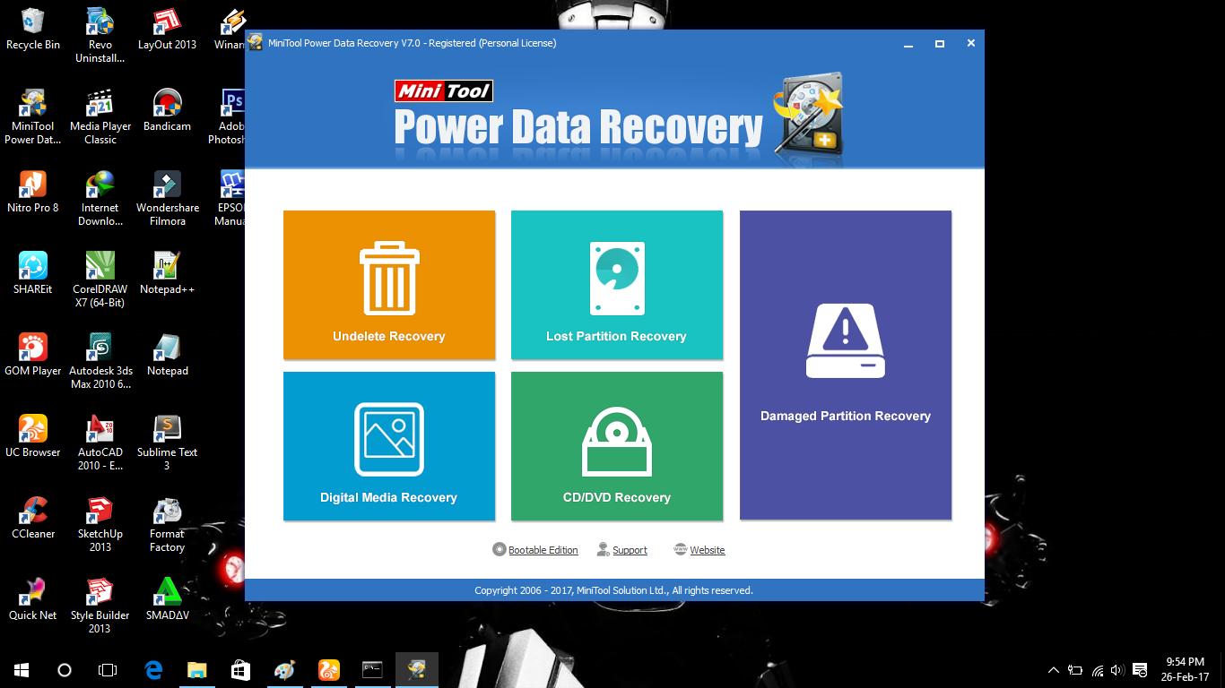 Cara Mengembalikan Data Yang Terhapus Atau Terformat Windows 10