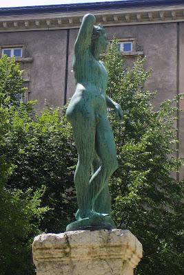 androgyne, Apollon, jean baptiste vietty, Lyon, musée des beaux arts de Lyon, Sculptures, Voyage par Lyon,