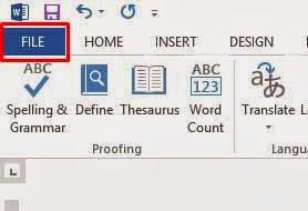 Cara Membuat Password Microsoft Word