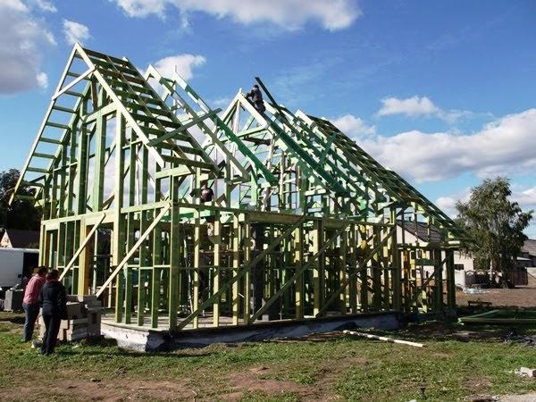 budowa domu prefabrykowanego drewnianego