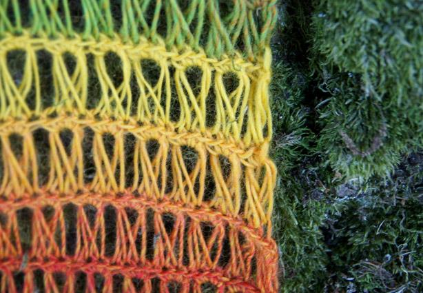 Schwatzkatz Wollmausel Schönes Handgemacht Tuch In Broomstick