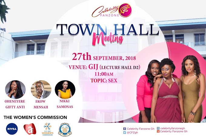 Celebrity Fanzone to hold 3rd edition of Town Hall Meeting at GIJ on September 27
