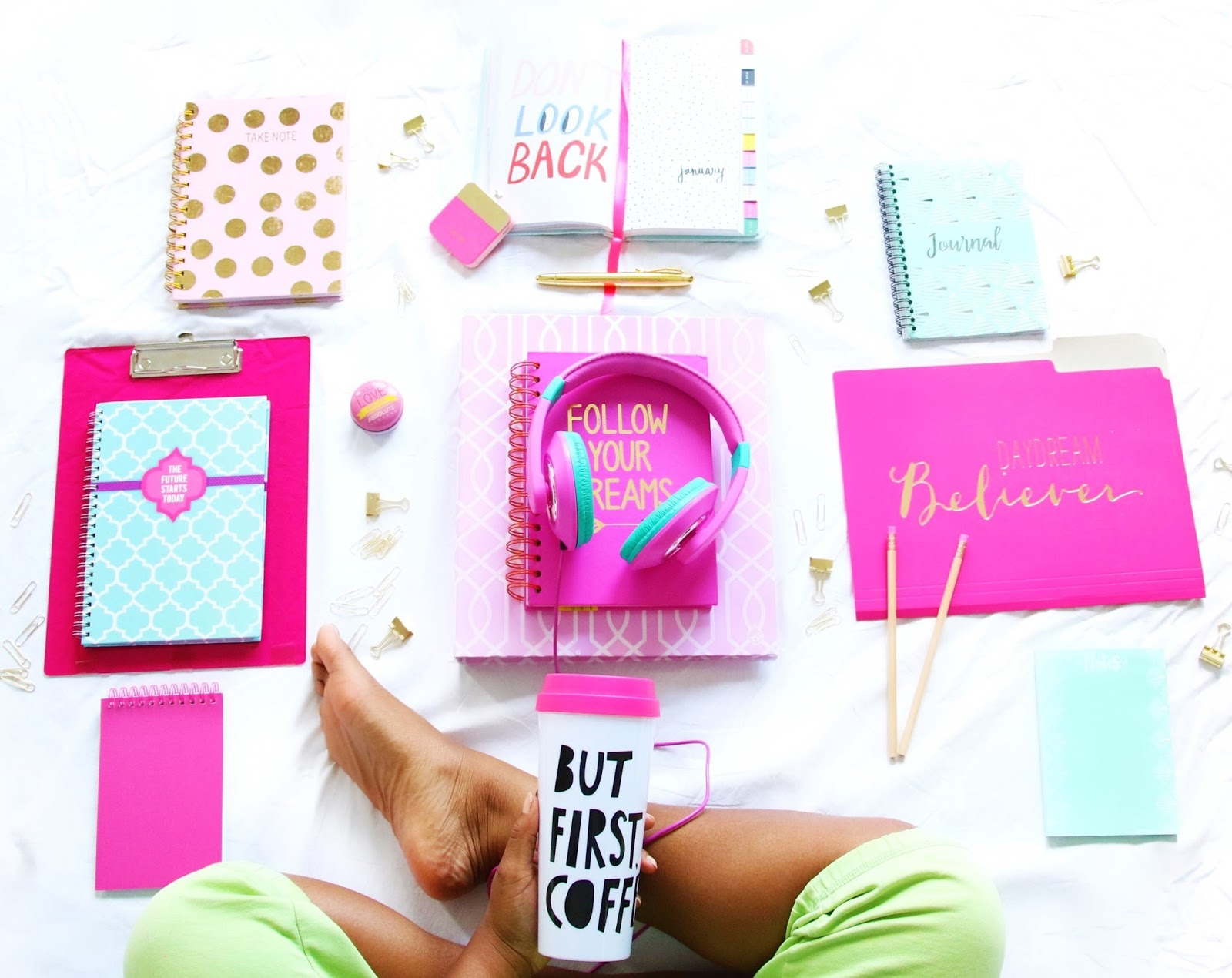Cute Back To School Supplies For High School And College Color U Bold