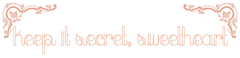 Keep It Secret, Sweetheart