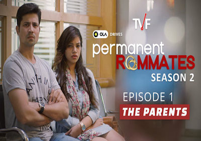 TVF Permanent Roommates S02E01 The Parents