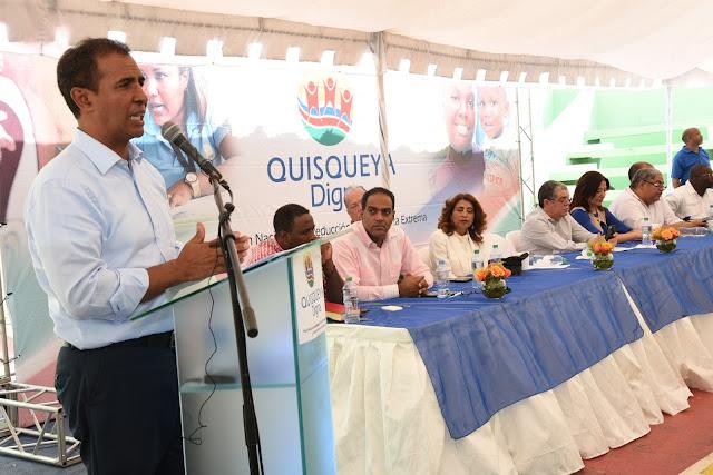 Residentes de Guachupita, La Ciénaga, Los Guandules y 27 de Febrero se benefician de operativo de Inclusión Social