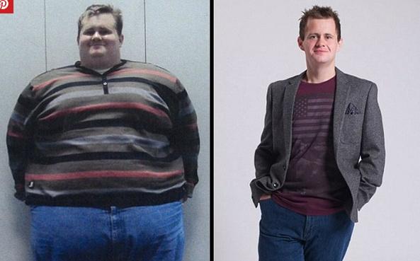 بريطاني يخسر 184 كغ من وزنه في عام ونصف! لن تصدق الطريقة التي اتبعها ..