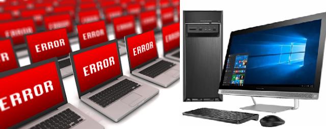Các lỗi máy tính thường gặp